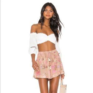 Wild Bloom Shorts - Blush